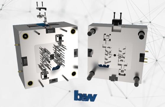 Spritzgusswerkzeugbaugruppe - Symbolbild für Expert Moldbase Extension