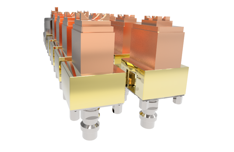 Mehrere gerenderte Senkelektroden - Symbolbild für SMARTElectrode