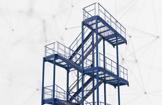 Gerendertes Treppenmodell - Symbolbild für Advanced Framework Extension